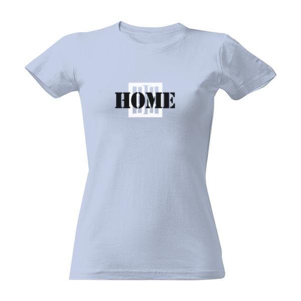 Tričko s potiskem HOME