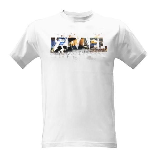 Tričko s potiskem IZRAEL