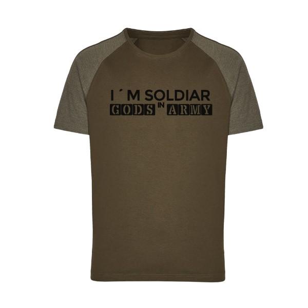 Tričko s potiskem GODS ARMY